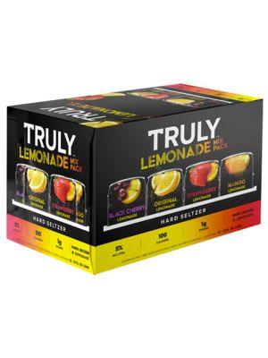TRULY LEMONADE HARD SELTZER MIX PACK 12PK 12OZ CAN