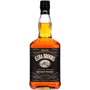 EZRA BROOKS 90 PROOF 1.75L