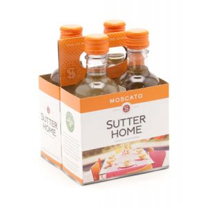 SUTTER HOME MOSCATO 4PK 187mL