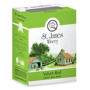 ST. JAMES VELVET RED 3L BOX