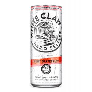 WHITE CLAW RUBY GRAPEFRUIT HARD SELTZER 6PK CANS