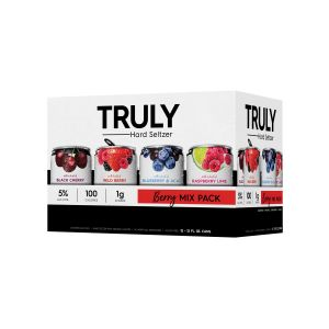 TRULY HARD SELTZER BERRY VARIETY 12PK 12OZ CANS