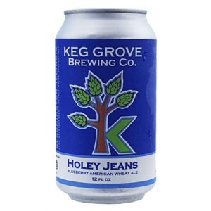 KEG GROVE HOLEY JEANS BLUEBERRY WHEAT ALE 6PK CANS