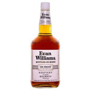 EVAN WILLIAMS BOTTLED-IN-BOND 100 PROOF 1.75L